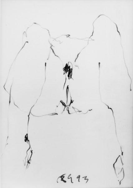 aktskizze . 29.7x42 . 1993