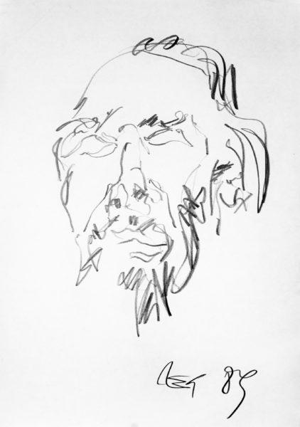 studie . 43x61 . 1989