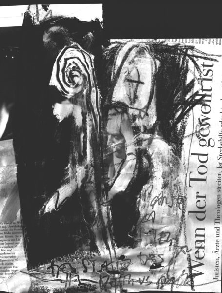 der stab des hl petrus-müssen päpste wirklich sterben . 85x85 . 1998