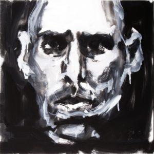 selbstportrait I . 50x50 . 2003