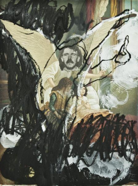 wrong face - fabelwesen VII . 38,5x51 . 2010