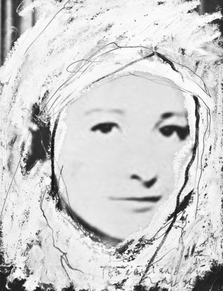terroristic nun II . 32x42cm . 2011