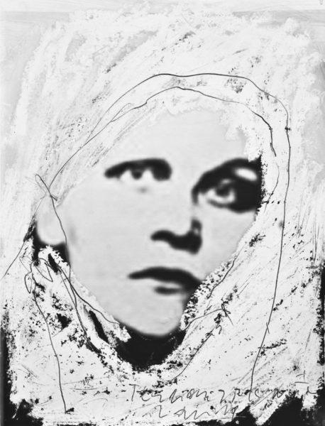 terroristic nun I . 32x42cm . 2011