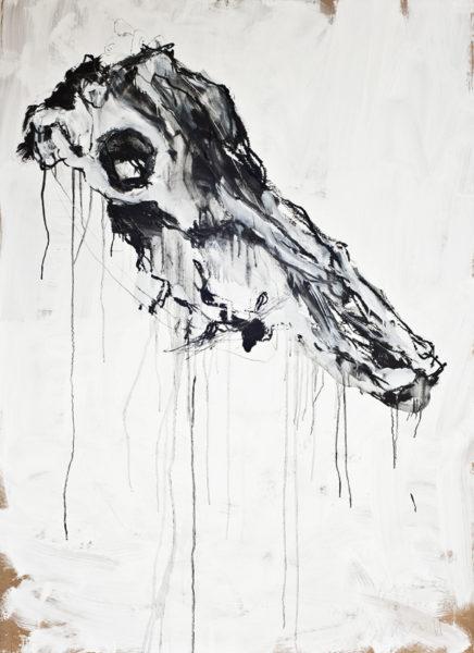 bone XIII (princess with lockjaw) . 102x140 . 2011
