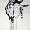 bone XVII (a cow with a hat from a gunman) . 102x140 . 2012