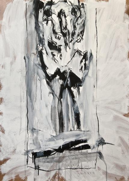 bone XXIX (neck-tie publicity) . 102x140 . 2012