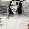 bone XXV (mona lisa as a dead cow) . 102x140 . 2012