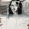 bone XXV (mona lisa as a dead cow) . 102x140 . 2012