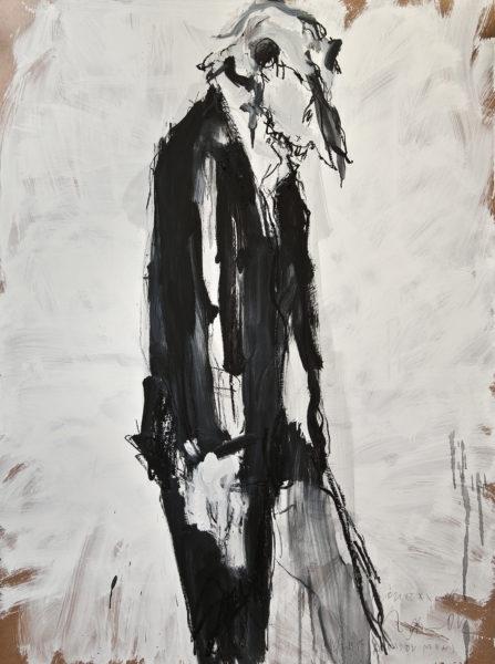bone XXVIII (sheep-dressed man) . 102x140 . 2012