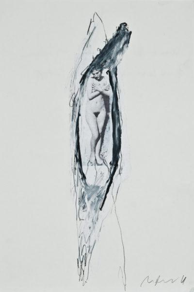 identitätsfreilegung - scham . 27x40 . 2011