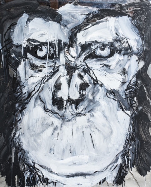 yourself as a hominid I . relationship XVI . 100x124,5 . 2020