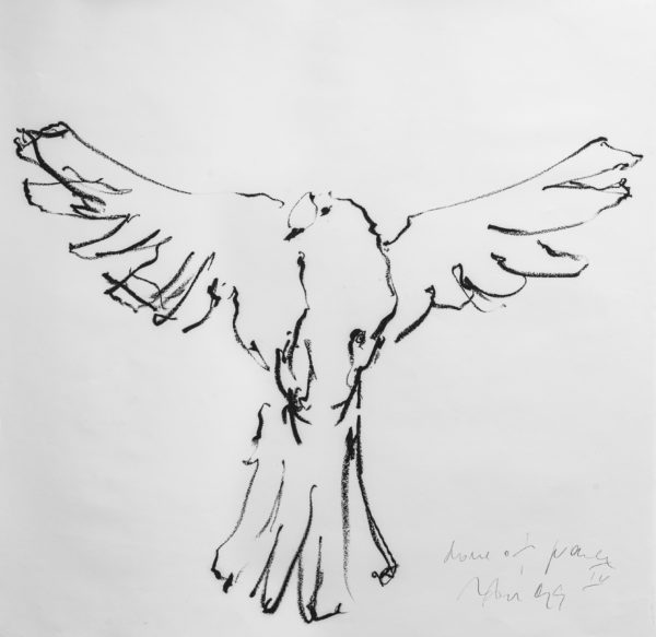 dove of peace IV . 100x100 . 2019